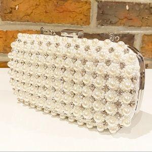 INC International Concepts Pearl Evening Bag